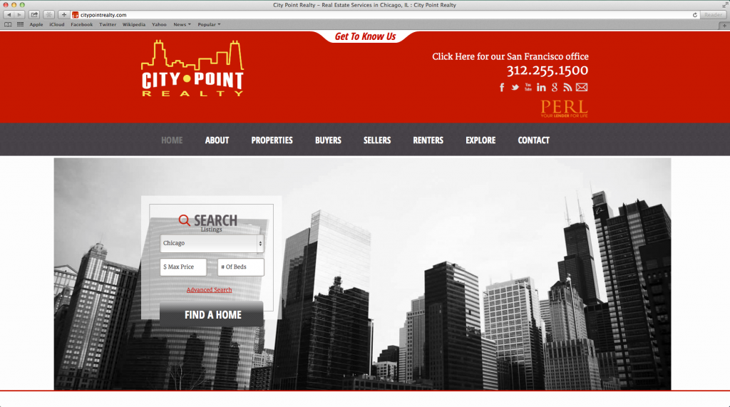 Website Design — CityPointRealty
