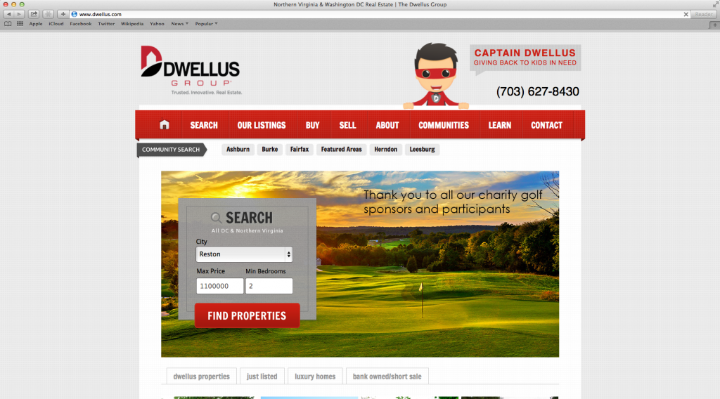 Professional Website Design — DwellusGroup